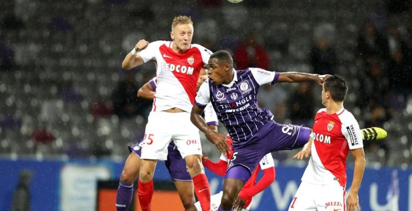 «Тулуза» одержала волевую победу над «Монако» иобошла ПСЖ