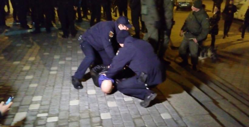После драки фанатов в Одессе полицией усилены меры безопасности, ситуация стабилизировалась - Цензор.НЕТ 6285