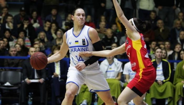 Женская сборная Украины побаскетболу преждевременно вышла наЕвро