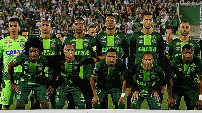 Погибших бразильских футболистов хотят сделать посмертными чемпионами