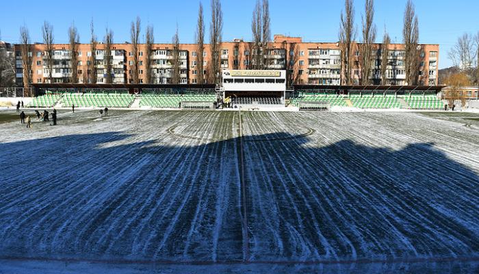 Четвертьфинал Кубка Украины «Полтава»— «Шахтёр» отменён из-за промёрзшего поля