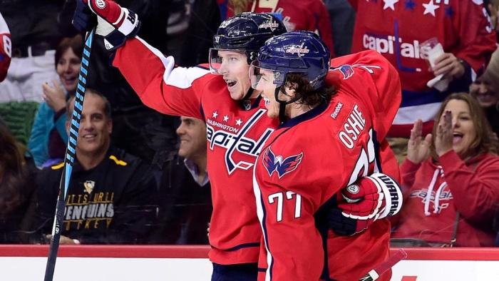 НХЛ: шайбы Овечкина иОрлова помогли «Вашингтону» разгромить «Питтсбург»