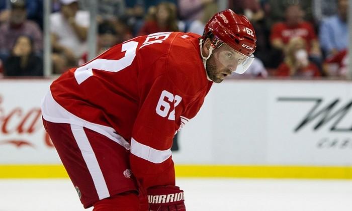 «Детройт» проиграл «Калгари» вматче НХЛ, Марченко получил травму