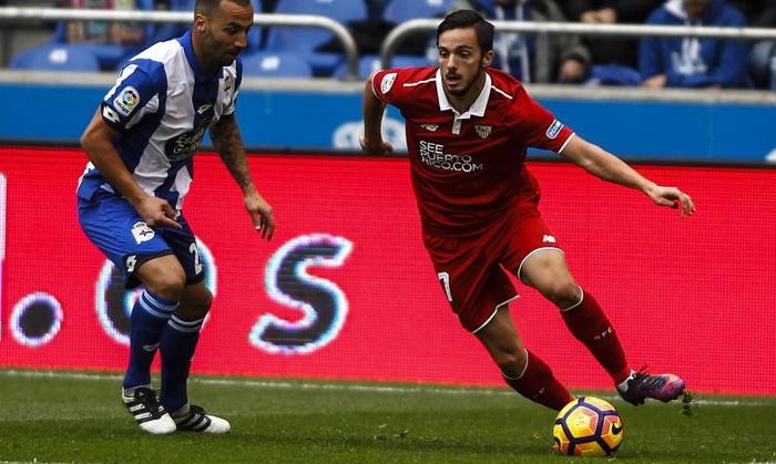 Блестящая волевая победа: «Севилья» навыезде переиграла «Депортиво»