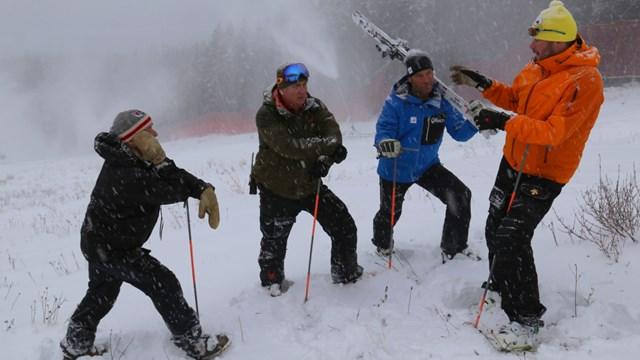 Этап Кубка мира отменен из-за нехватки снега