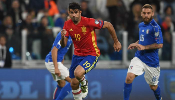 Коста покинул сборную Испании