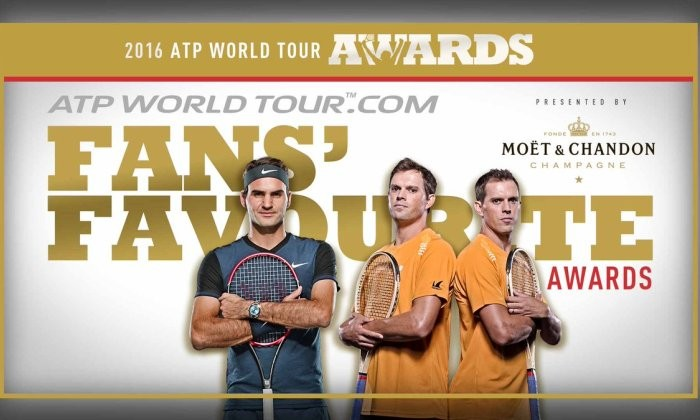 Названы владельцы наград ATP World Tour Awards