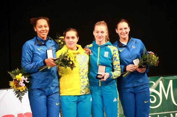 Украинские фехтовальщици завоевали золото вКитайской республике