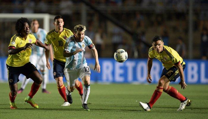 Аргентина разгромила Колумбию вматче отбораЧМ