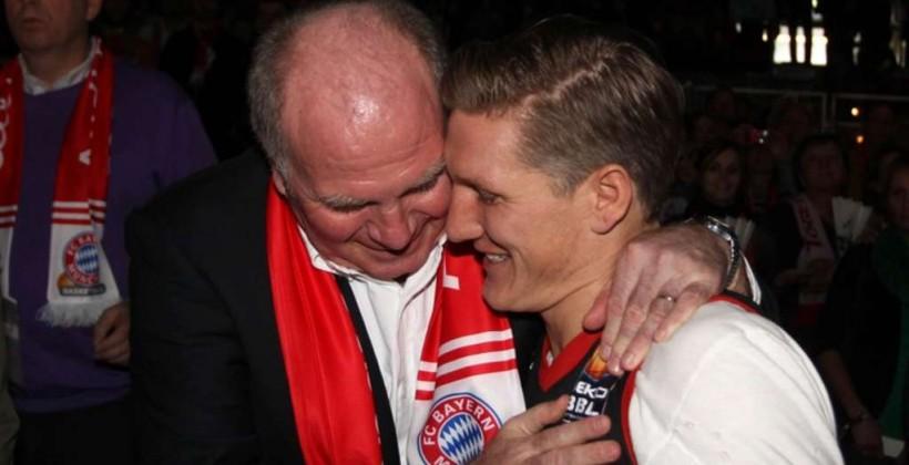 Хёнесс: насколько язнаю, Швайнштайгер собирается закончить карьеру
