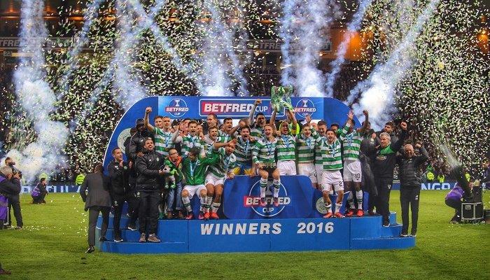 «Селтик» одержал победу 100-й трофей всвоей истории
