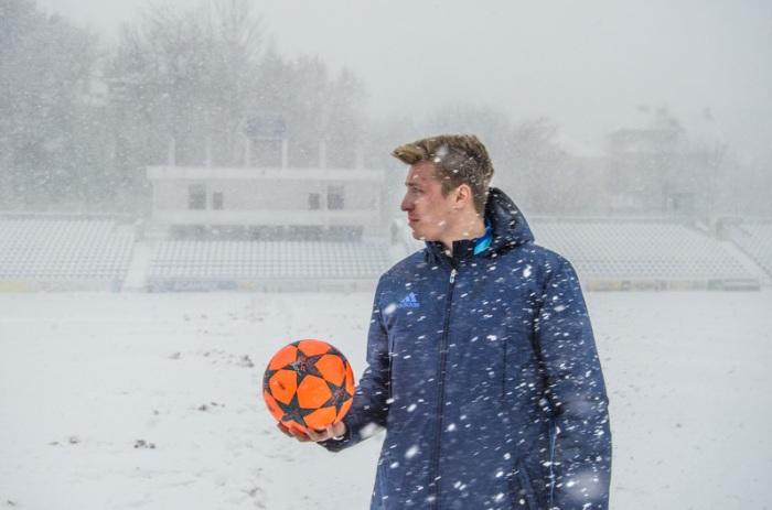 Тот случай, когда и оранжевый мяч не спасает, фото И.Данилова, fcbukovyna.com