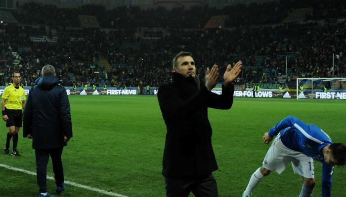 «Этой зимой сбора национальной команды небудет»— Андрей Шевченко