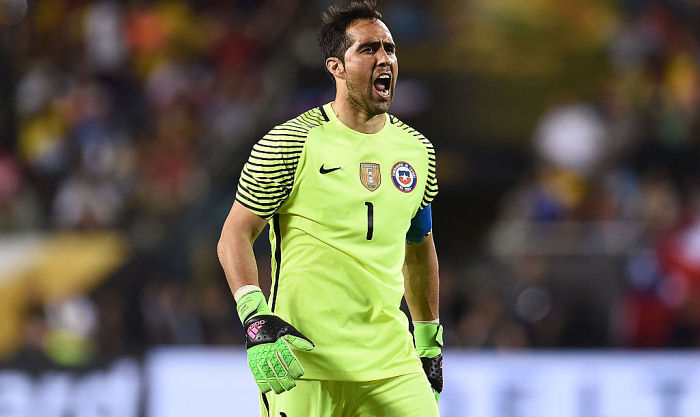 Клаудио Браво получил травму колена вматче против Колумбии