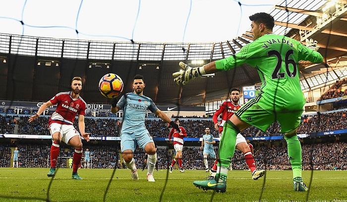 Агуэро забил 150-й гол за«Манчестер Сити»