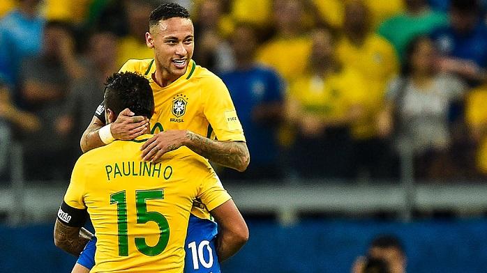 Неймар забил собственный 50-й гол засборную Бразилии