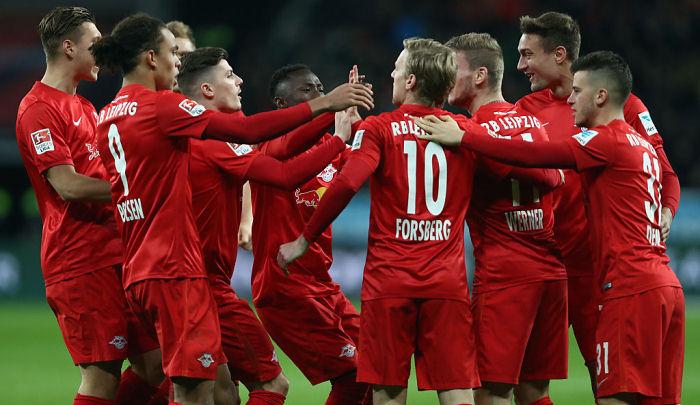 «Лейпциг» вышел напервое место вчемпионате Германии