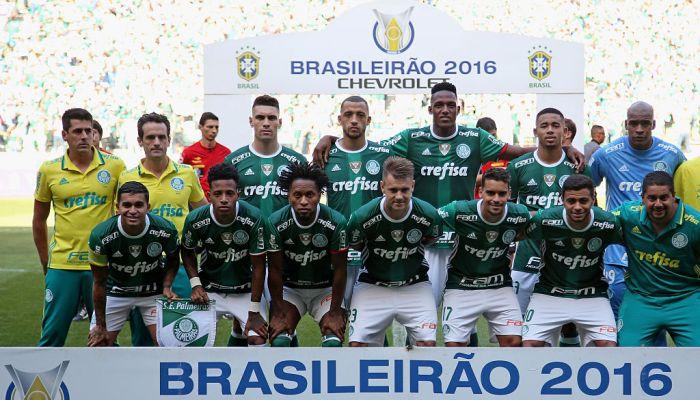 «Палмейрас» впервый раз с1994 года одержал победу чемпионат Бразилии