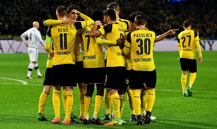 «Боруссия» и«Легия» побили рекорд результативности вматче Лиги чемпионов