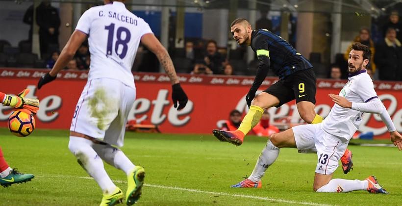 «Интер» обыграл «Фиорентину» вматче чемпионата Италии