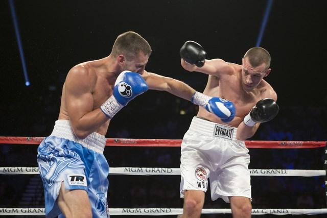 Александр Гвоздик выиграл 12-й бой впрофессиональной карьере