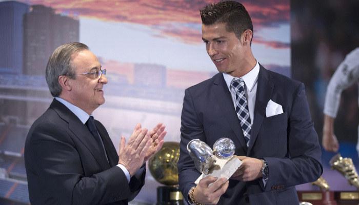 Роналду уйдёт из«Реала» только за1млрдевро— Перес