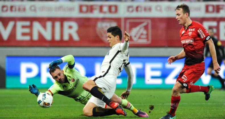 «Дижон» ушел отпоражения вдомашнем матче чемпионата Франции с«Монако»