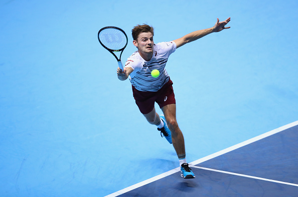 Джокович обыграл Гоффена вматче Итогового турнира ATP