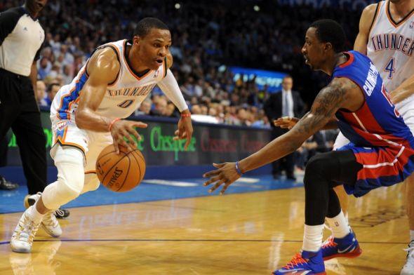Чемпионат НБА: Порзиньгис крут, однако Уэстбрук круче