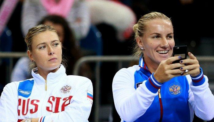 Мария Шарапова и Светлана Кузнецова, rsport.ru