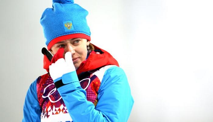 Биатлонистка Вилухина израсходовала «огонь» ирешила закончить карьеру