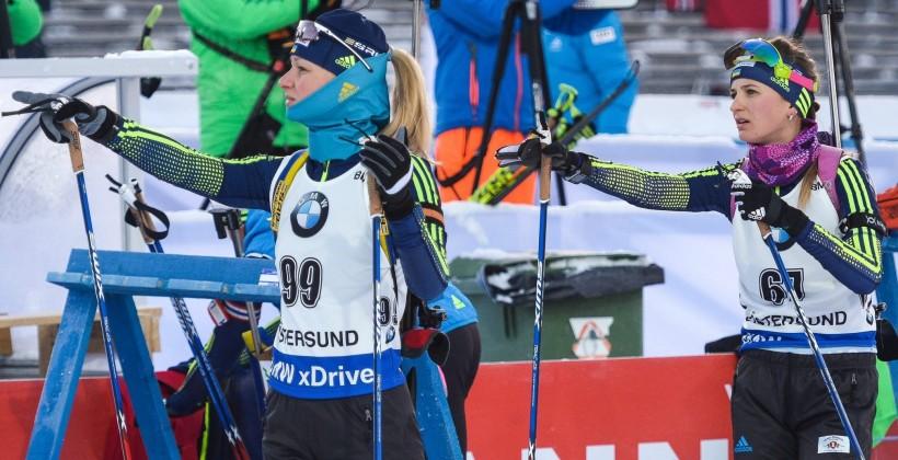 Две украинки попали в топ-5 в спринте на Кубке IBU