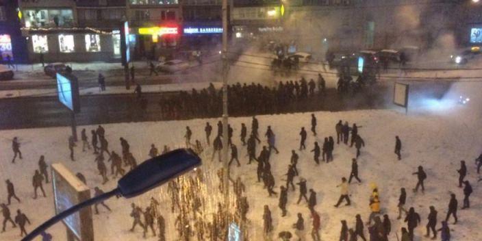 10 болельщиков пострадали в следствие стычек перед матчем Динамо — Бешикташ