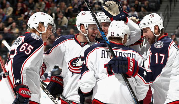 «Коламбус» обыграл «Калгари» вматче НХЛ, Бобровский отразил 22 броска
