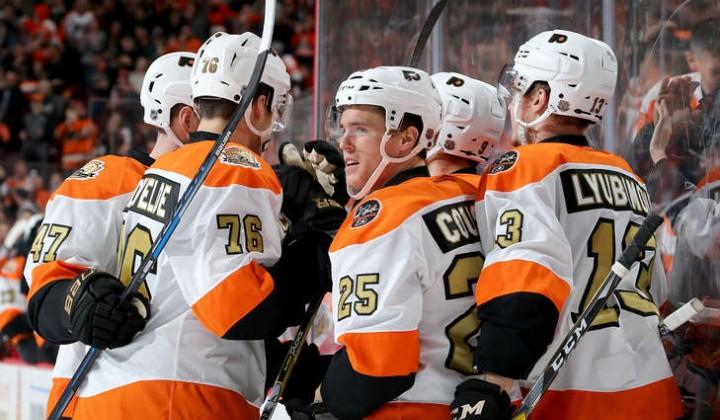 «Филадельфия» одолела «Чикаго» вматче НХЛ, Проворов оформил дубль