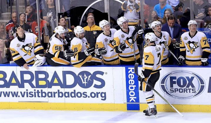 Евгений Малкин вошел втройку наилучших бомбардиров НХЛ
