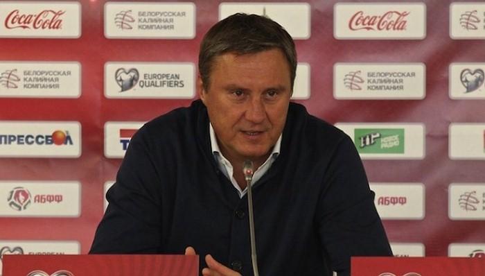 Главный тренер государственной сборной Беларуссии уволен сосвоего поста