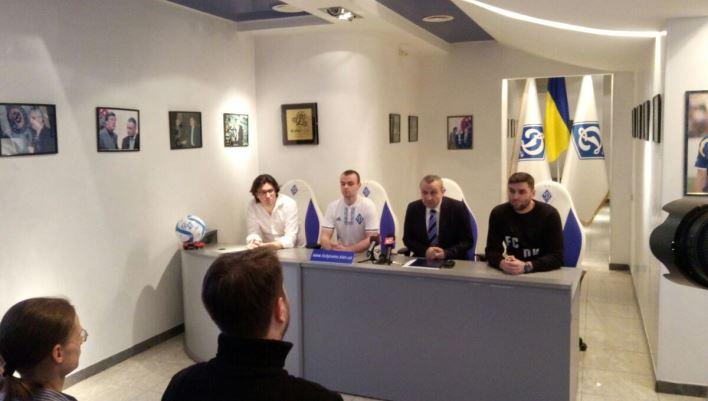 Киевское «Динамо» будет играть вкиберфутбол