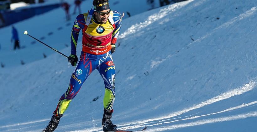 Антон Шипулин стал 3-м вспринте наэтапе Кубка мира вСловении