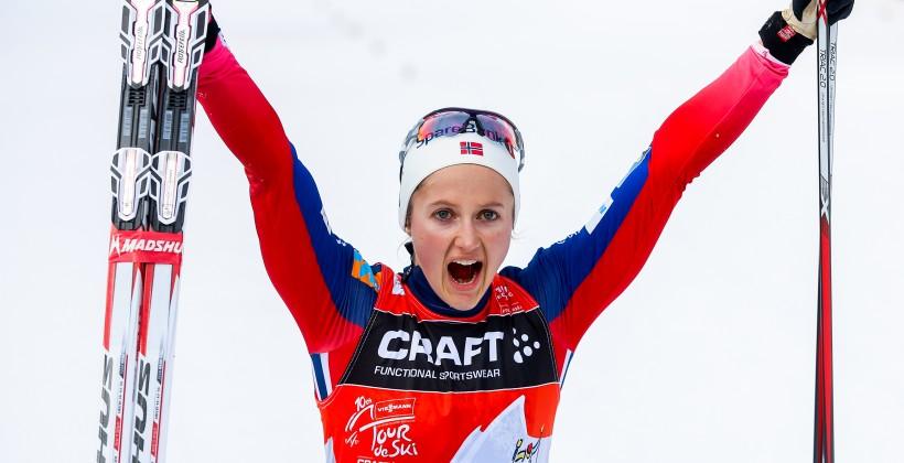Русские лыжники заняли 2-ое место вэстафете наэтапеКМ воФранции