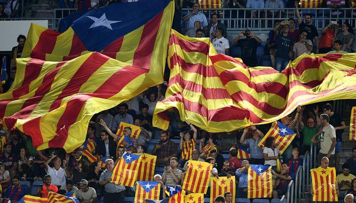 «Барселона» отозвала апелляцию вCAS поповоду каталонских флагов