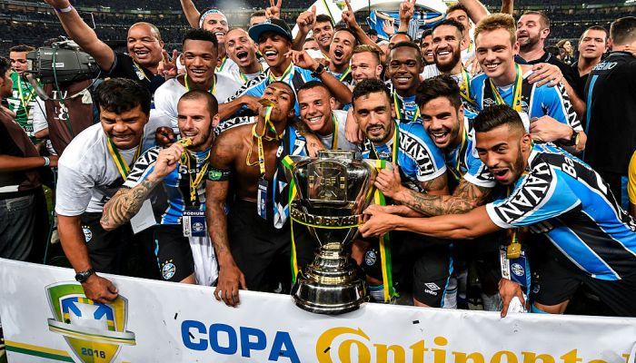 «Гремио»— победитель Кубка Бразилии