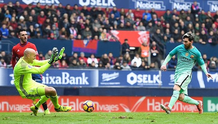 Месси— на4 месте поколичеству игр в«Барселоне»
