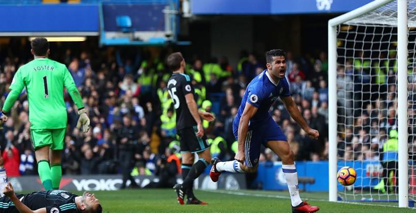 ФК «Челси» одержал девятую победу подряд вчемпионате Британии