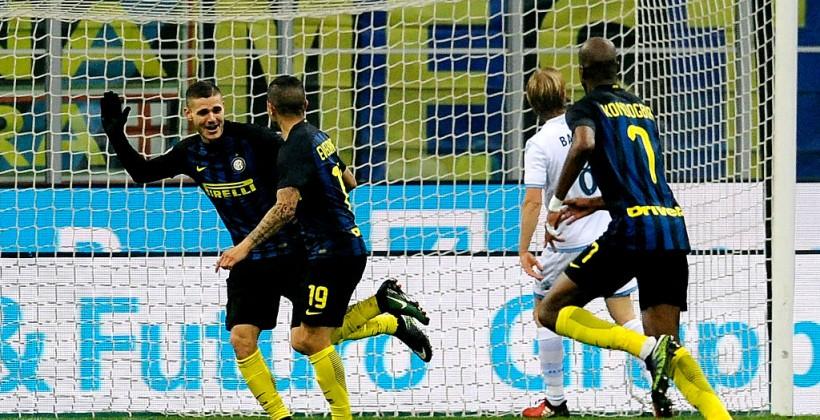 «Интер» разгромил «Лацио» вматче Серии А, Икарди сделал дубль