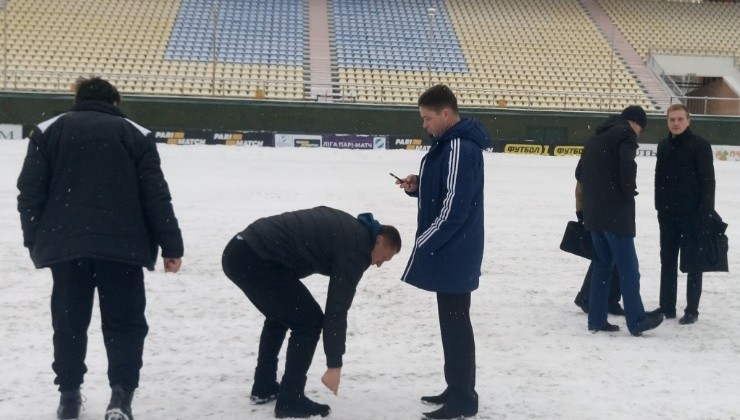 Вандалы из Львова сломали несколько кресел на стадионе Юбилейный