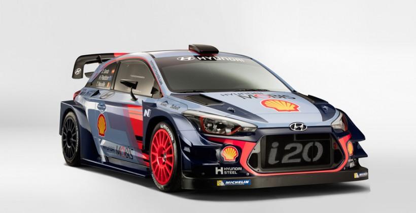 Хюндай i20 Coupe WRC 2017 представили вМонце