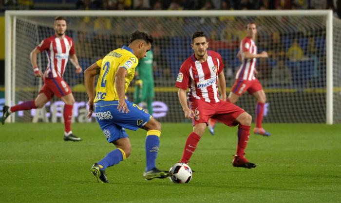 «Атлетико» победил «Лас-Пальмас» вКубке Испании