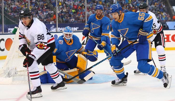 Тарасенко отличился дублем в«зимней классике» НХЛ