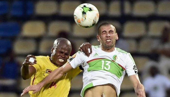 Алжир сыграл вничью сЗимбабве— Кубок Африки